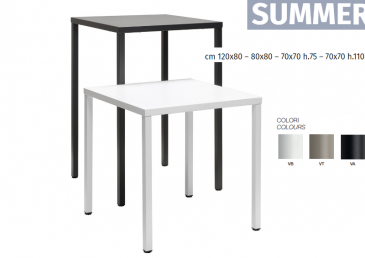 la table outdoor Summer de SCAB design